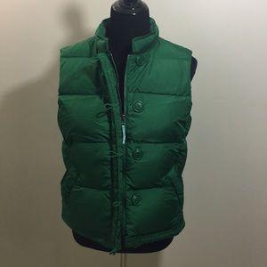 J. Crew Puffer Vest w/ Zipper & Pockets